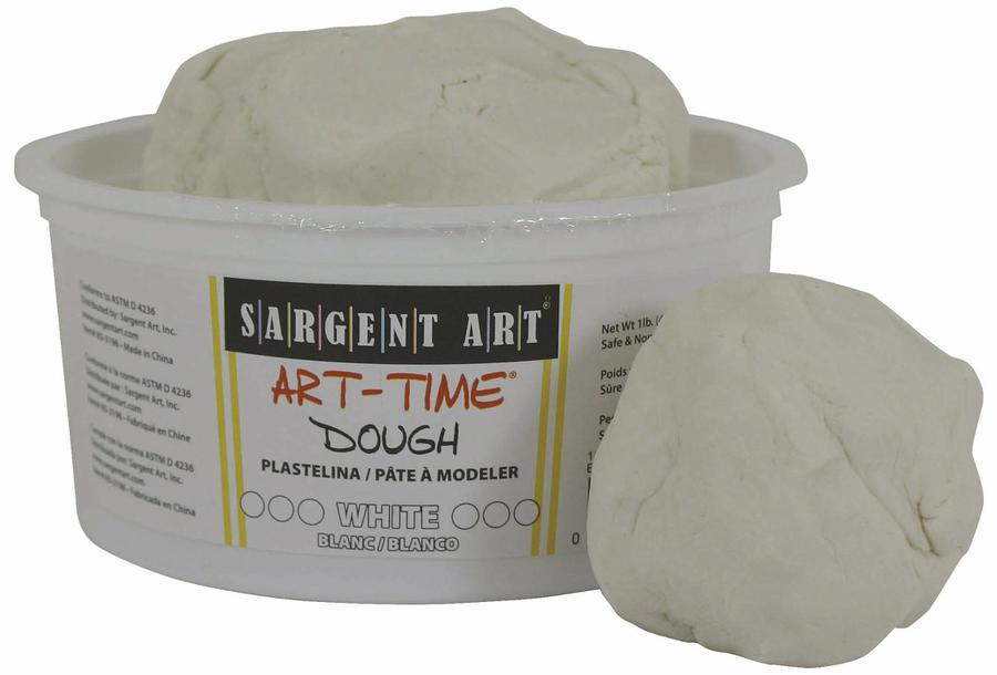 1 Lb Art Time Dough - White