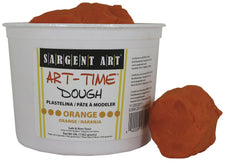 3 Lb Art Time Dough - Orange