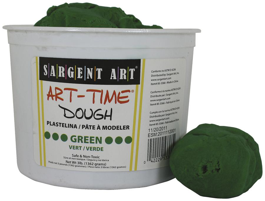 3 Lb Art Time Dough - Green