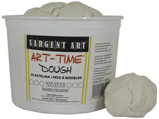 3 Lb Art Time Dough - White