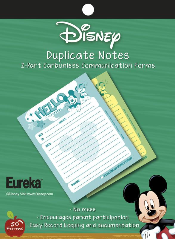 Mickey Mouse® Hello Duplicate Notes