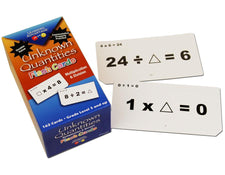 Unknown Quantities Flash Cards - Multiplication & Division