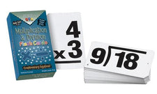 Vertical Flash Cards, Multiplication & Division Set