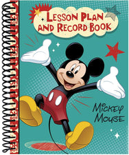 Mickey Mouse® Lesson Plan & Record Book