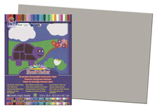 "SunWorks® Construction Paper, 12"" x 18"" Gray"