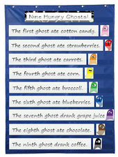 9 Hungry Ghosts - Halloween Color Activity