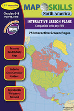 Interactive Whiteboard Software, Map Skills North America