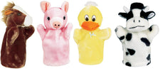 Farm Puppets - Set 1 (Duck, Pig, Horse, Cow)
