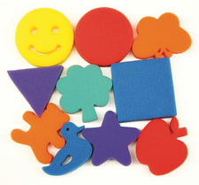 Paint Sponges - Familiar Shapes Set - 10 Pieces