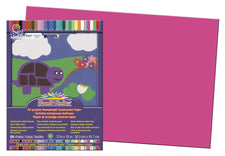 "SunWorks® Construction Paper, 12"" x 18"" Hot Pink"