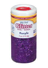 Spectra® Glitter, 4 Oz. Purple