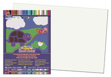 "SunWorks® Construction Paper, 12"" x 18"" White"