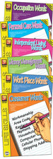 Remedia Publications Life Skills Activity Books, Set Of 6 Books