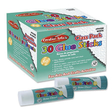 Glue Sticks Classpack, .28 Oz White