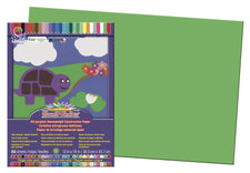 "SunWorks® Construction Paper, 12"" x 18"" Bright Green"
