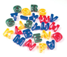 Dough Cutters - Capital Letters - 26 Pieces