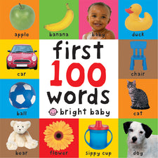 Bright Baby First 100 Words Big Board Book