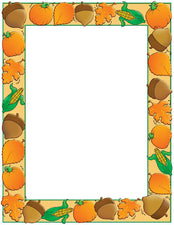 Design Paper Autumn Harvest 50 Sheets 8-1/2 x 11