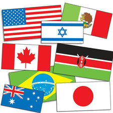 International Flags Accent Punch Outs