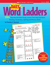 Daily Word Ladders: Grades 1–2