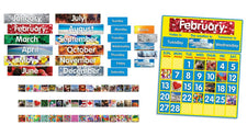 Photo Calendar Bulletin Board Set