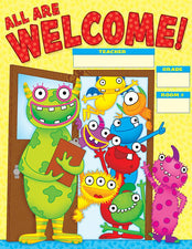 Monsters Welcome Chart Gr Pk-5