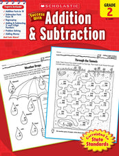 Scholastic Success with Addition & Subtraction (Grade 2)
