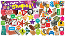 Shapes In Photos Mini Bulletin Board Set