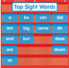 Word Wall Pocket Chart