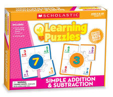 Learning Puzzles Simple Addition & Subtraction