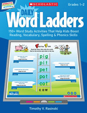 Interactive Whiteboard Activities: Daily Word Ladders Grades 1–2