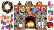 Holiday Hearth Bulletin Board Set