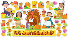 We Are Thankful! Bulletin Board Set