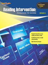 Reading Intervention Gr 8 Foundations For Success