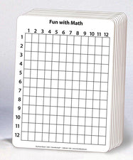 "Math Whiteboard - 9"" x 12"" - 2-Sided"