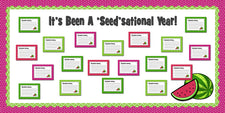 It's Been A 'Seed'sational Year! - End of the Year Bulletin Board