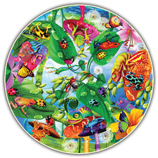 Round Table Puzzle - Creepy Critters (500-Piece)
