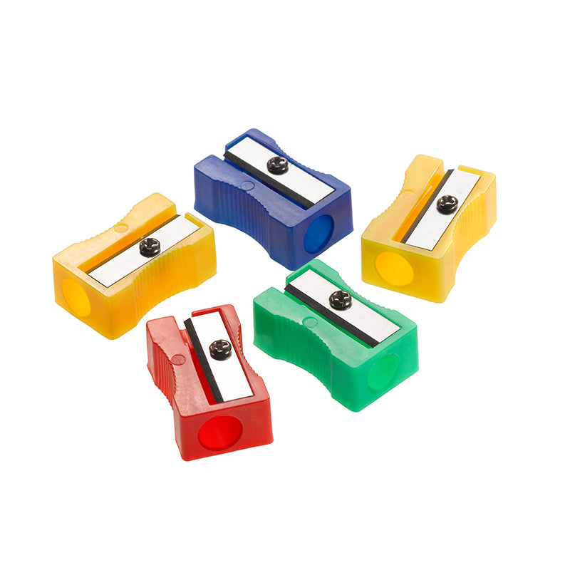 Single Hole Pencil Sharpeners, 24 Class Pack