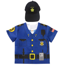 My 1st Career Gear (Toddler), Police with Hat