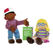 Social Skills Puppet Set, Max and Millie