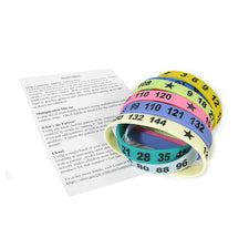 Math Bands - Set of 12 (Individual)