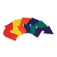 Curved Arrow Markers, Set of 6