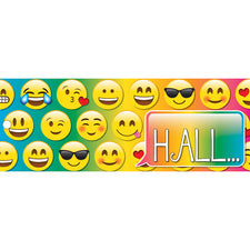 Emoji Hall Pass, Laminated