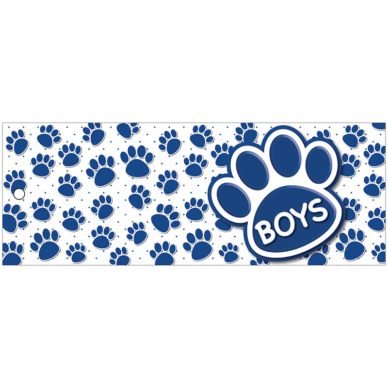 Blue Paw Boys Laminated Pass