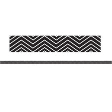 Mini Magnetic Magi-Strips, Black Chevron