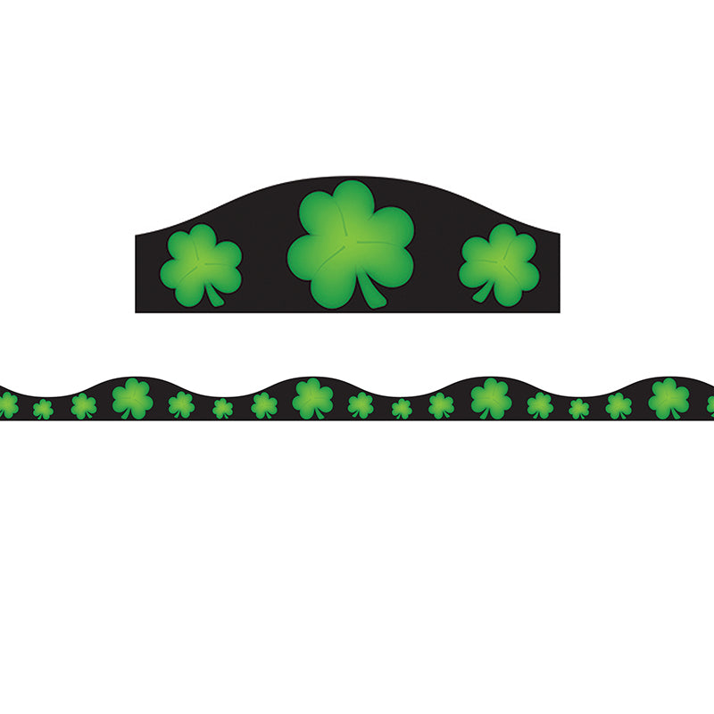 Big Magnetic Shamrocks Border