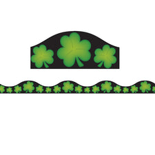 Magnetic Shamrocks Border