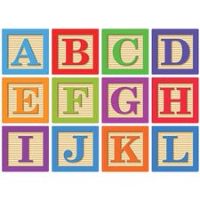"Die-Cut Magnetic 2"" ABC Block Letters"