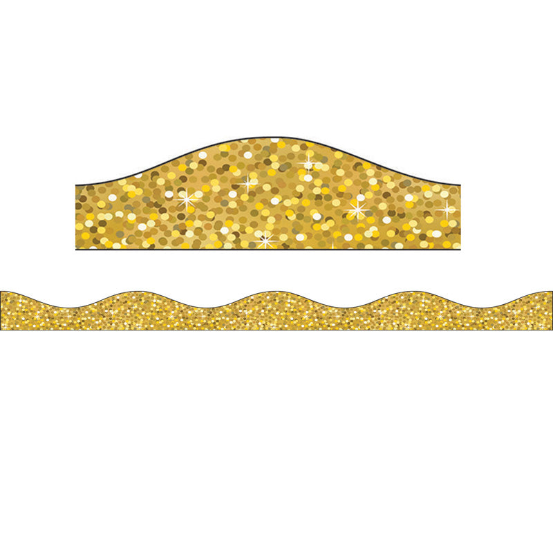 Gold Sparkle Magnetic Border