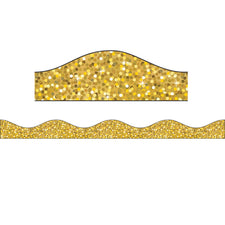 Big Magnetic Border, Gold Sparkle